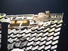 Huis in Tholen zwaar beschadigd door blikseminslag