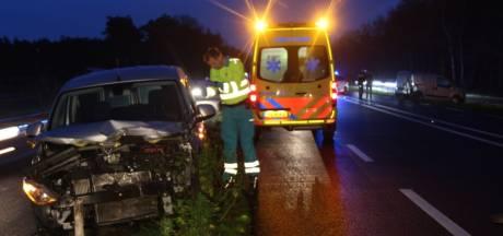 Twente-Sallandtunnel bij Nijverdal afgesloten door ongeval met letsel