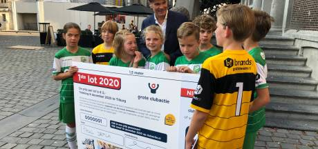 Record voor Grote Clubactie: 100.000 loten op eerste dag