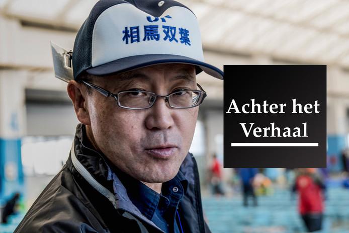 Japan november 2019Beeld bij verhaal Bob van Huet Fukushima voedsel kwaliteit.Yugiro Watanobe - viscooperatieFoto Roberto Maldeno