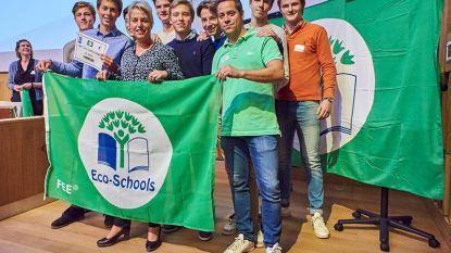 Sint-Jozefscollege en GO! De Handelsschool ontvangen Groene Vlag van Eco-Schools van minister Schauvliege