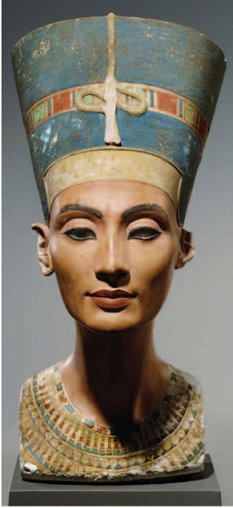 De legendarische Egyptische koningin Nefertiti.