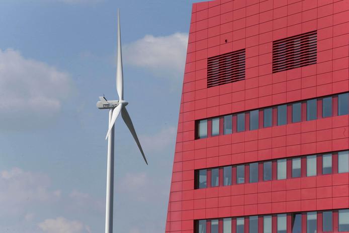 Een windmolen in Houten.