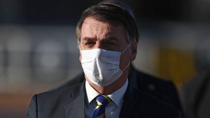 Braziliaanse president vindt masker in winkels, kerk en op school niet nodig
