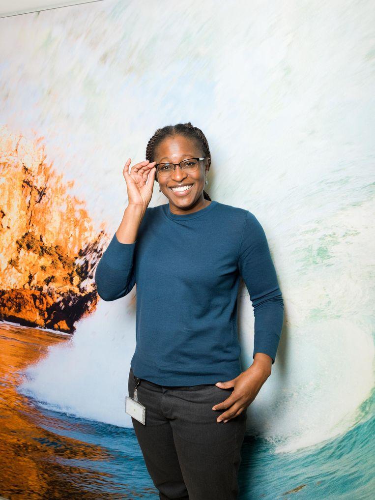 Yvonne Agyei, chief people officer (nationaliteit: Amerikaanse). Beeld Ivo van der Bent