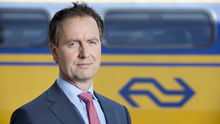Timo Huges, president-directeur van de NS Beeld anp
