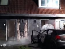 Autobrand in Culemborg slaat over naar twee woningen
