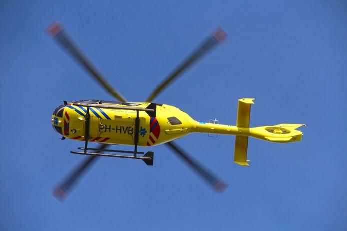stockadr traumahelikopter traumaheli helikopter 112