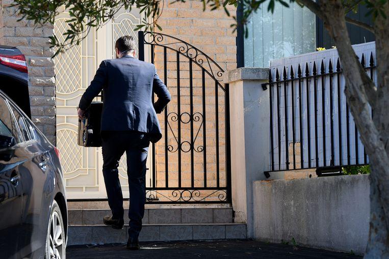 De Australische politie en veiligheidsdienst deden donderdag invallen in het huis, hier afgebeeld, en kantoor van Shaoquett Moselmane. Beeld EPA
