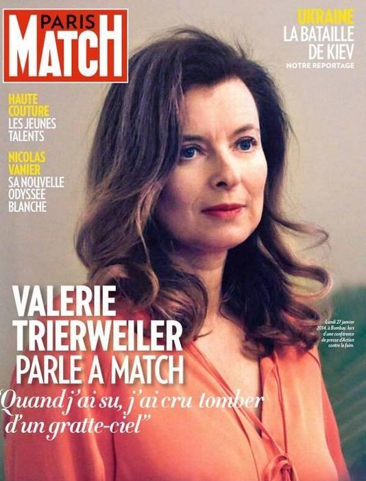 Paris Match était aux côtés de Valérie Trierweiler pendant son voyage en Inde