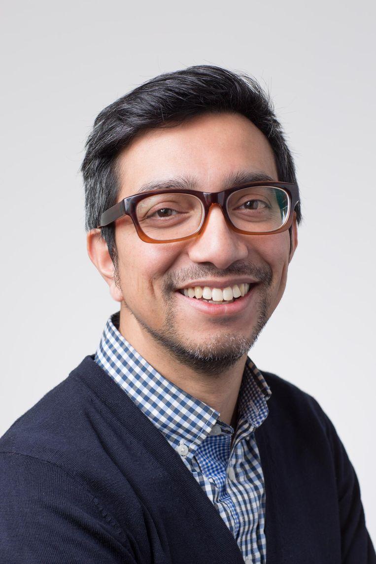Reza Kartosen-Wong, docent mediastudies. Beeld