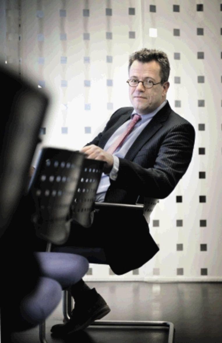 Harco de Bruin:'We zitten niet te wachten op iemand die het alleen interessant vindt om bestuurslid te zijn. De sollicitanten moeten kennis van zaken hebben en kritisch kunnen meedenken.' (FOTO BRAM PETRAEUS) Beeld