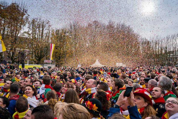 De opening van het carnavalsseizoen in Oeteldonk op 11-11 2019.