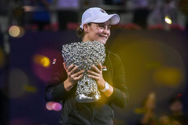 De Australische Barty won de B-Masters.