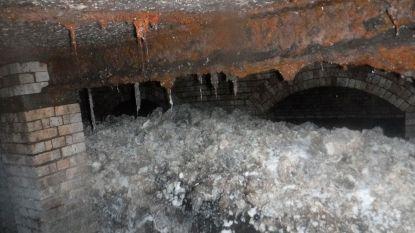 Opnieuw enorme vetberg ontdekt in Engels rioolstelsel: verstoppend gevaarte van zes dubbeldekkers lang