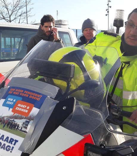 Bredase politie onderweg voor langzaamactie: 66 km per uur
