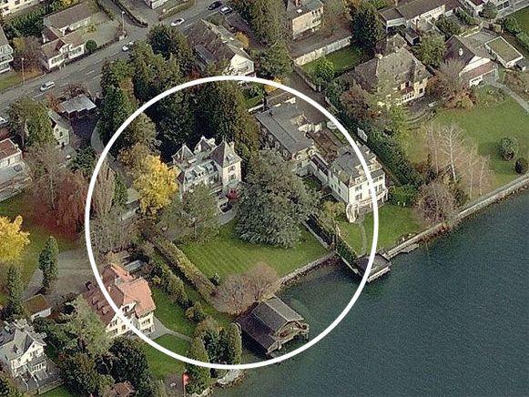 Een blik op Chateau Algonquin, het domein van Tina Turner in Zwitserland.