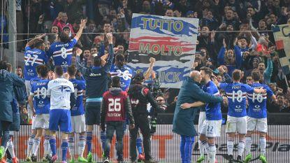 Invaller Dennis Praet wint met Sampdoria stadsderby tegen Genoa