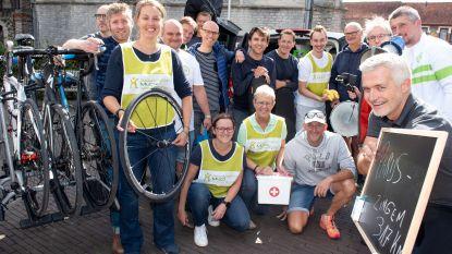 Met de fiets van Eiffeltoren naar Sportpaleis tegen muco