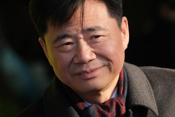 De Chinese ambassadeur in Duitsland Wu Ken.