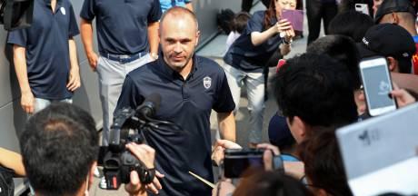 Iniesta kijkt uit naar debuut in Japan