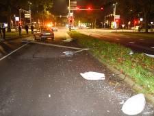 Spookrijder veroorzaakt schade in Alphen