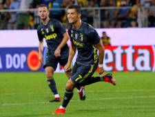 Ronaldo redt ideeëloos Juventus