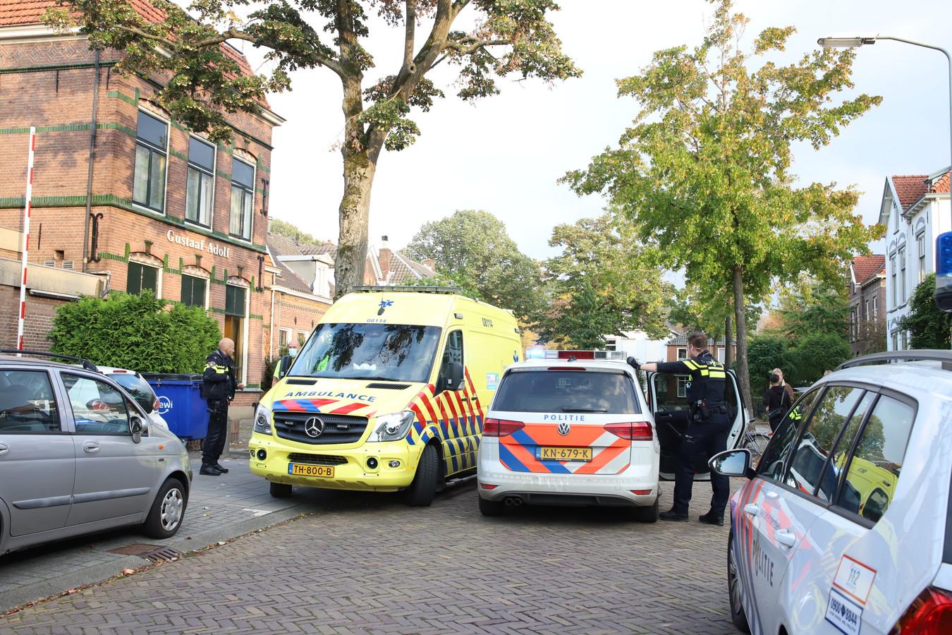 De politie heeft een verdachte aangehouden voor een steekpartij op de Konijnenwal in Tiel.
