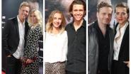 IN BEELD. Ian Thomas poseert voor het eerst op de rode loper met zijn vriendin op première '40-45'