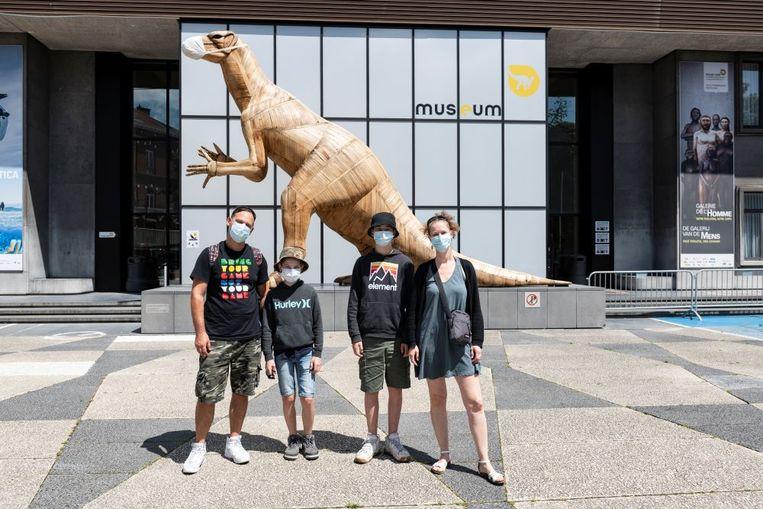 Veilig naar het Museum voor Natuurwetenschappen in Brussel