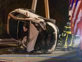 A58 weer vrij tussen Sint Annabosch en Galder na ongeluk met meerdere gewonden
