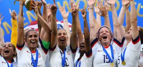 Trump feliciteert voetbalvrouwen: 'Amerika is trots!'