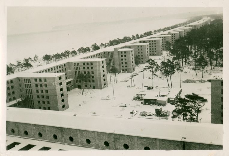 Seebad Prora in 1939. Beeld Dokumentationszentrum Prora