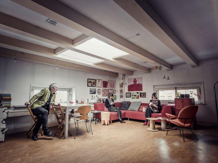 De woning van Gertie Jaquet Beeld Martin Dijkstra