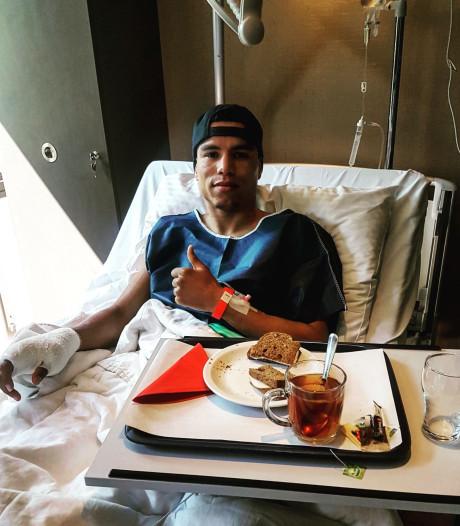 Bokser Enrico Lacruz na operatie vijf maanden aan de kant
