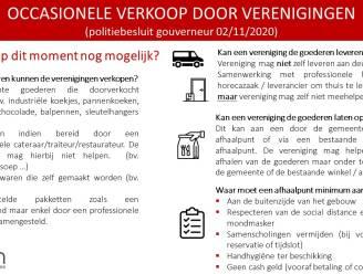 Gemeente Pittem start drive-in afhaalpunten als alternatief voor huis-aan-huisverkoop verenigingen