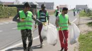 Vijfwegen vrij van zwerfvuil dankzij vluchtelingen