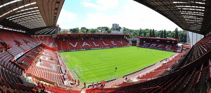 Het stadion van Charlton Atheltic, waar RKC op 30 juli aan zal treden tegen de Engelse club.