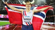 Karsten Warholm verrast met titel op 400 meter horden