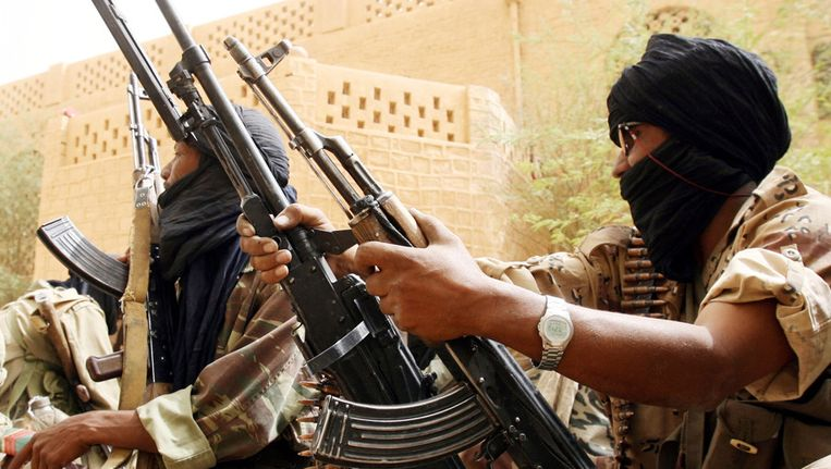 Een Malinese soldaat (archieffoto uit 2006). Beeld afp