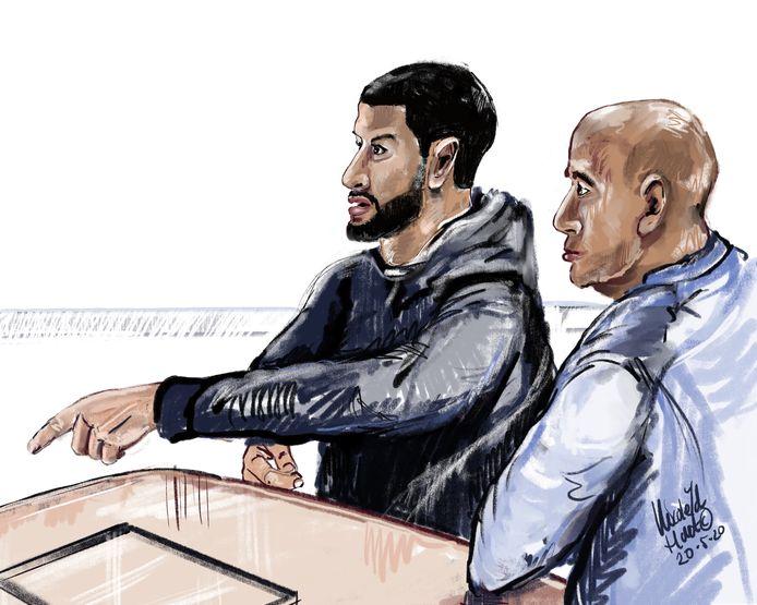 Het Openbaar Ministerie blijft bij de eist van 8 en 7 jaar cel tegen twee mannen uit Rotterdam voor de gewelddadige ripdeal in de Arnhemse wijk Rijkerswoerd.
