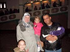 Mandy's gezin vlucht naar Oost-Syrië
