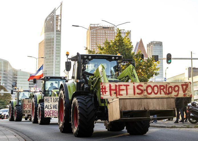 Belangenbehartiger LTO Noord riep op tot het boerenprotest en eist een opschorting van de beleidsregels rond stikstof