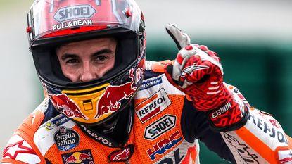 Marc Marquez pakt in Tsjechië derde zege van het seizoen in MotoGP