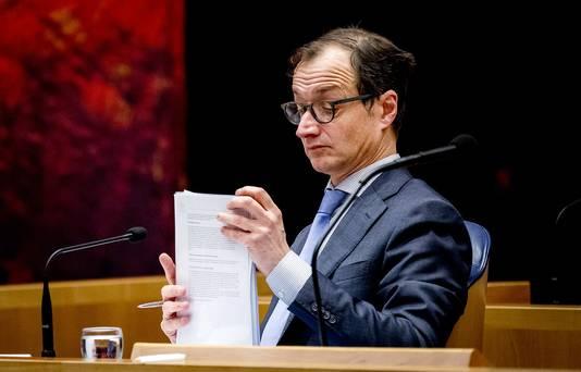 Verantwoordelijk minister Eric Wiebes