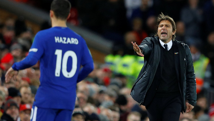 Eden Hazard ne garde pas un très bon souvenir d'Antonio Conte