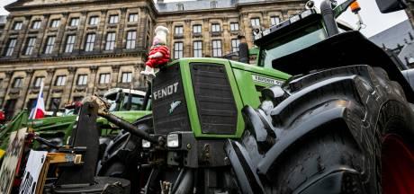 Honderden Duitse boeren komen op de trekker naar de Achterhoek voor acties