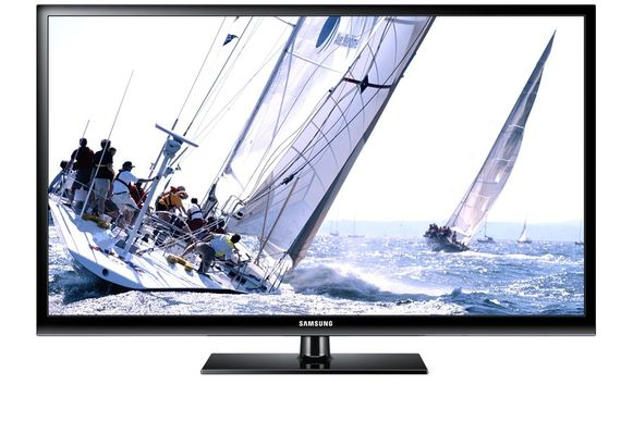 Een Samsung-tv met een scherm van 60 inch. Volgens tv-fabrikanten wordt dat de volgende norm.