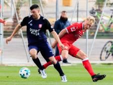 Vuckic na negen maanden weer op het trainingsveld bij FC Twente