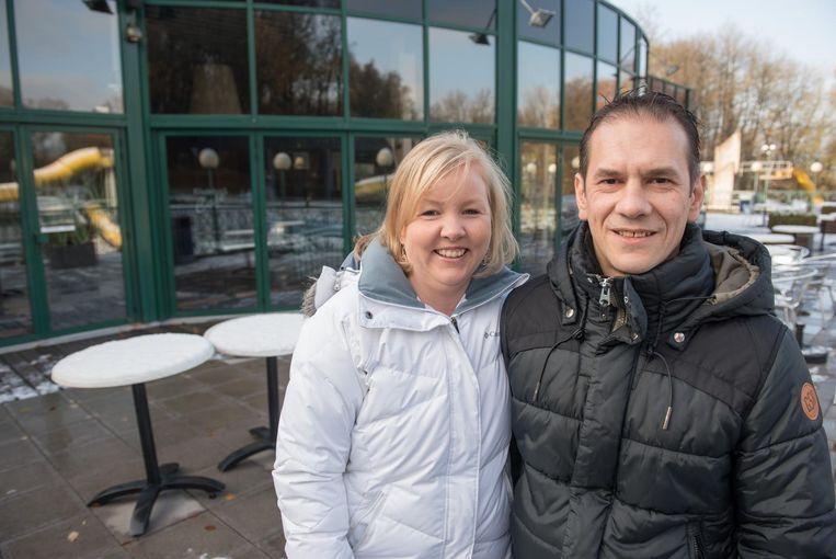 Jurgen De Turck met zijn vriendin Manuella Desmet.